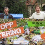 Alexander Petznek und Christian Mynha für Umweltschutz