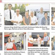 GR Maria Lager besuchte das Sommerfest des Roten Kreuz.