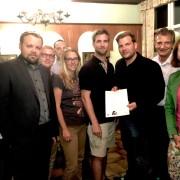 Die Stadt- und Gemeinderäte und Funktionäre der Volkspartei Bruck unterzeichneten die Resolution gegen den Ausbau des Atomkraftwerks Dukovany.