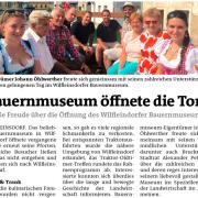 STR Alexander Petznek und GR Thomas Riegler besuchten das Bauernmuseum in Wilfleinsdorf.