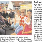 STR Alexander Petznek und GR Thomas Riegler gratulierten Eigentümer Johann Öhlwerther zur gelungenen Veranstaltung.