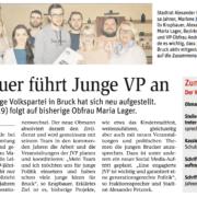 STR Alexander Petznek und VP-Obfrau gratulieren dem neuen JVP-Vorstand.