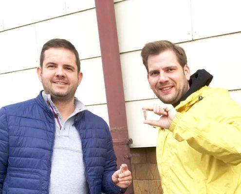 Gelsenmittel kostenlos in allen Trafiken mit Thomas Riegler und Alexander Petznek
