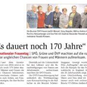 Kinonachmittag der ÖVP Frauen mit Andrea Koch, Ronald Altmann, Tina Heissenberger, Eva Fink, Sissy Doppler und Alexander Petznek